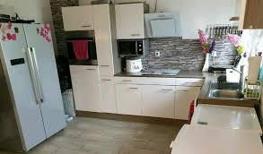 einbauküche mit e geräten side by side kühlschrank