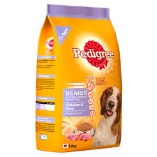 Small Non Shedding Dogs For Seniors by Pedigree Chicken U0026 Rice For Senior Dog 1 2 Kg Dogspot