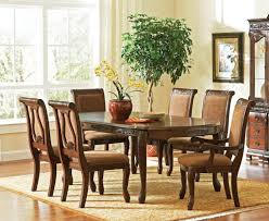 Classic Elegant Dining Room With Cheap Cappuccino Finish Dining
