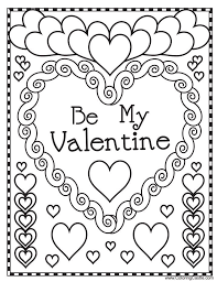 Where To Find The Cutest Printable Valentines Day Coloring Pages