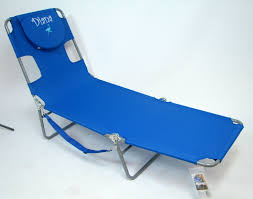 IMPRINTED Personalized The Ostrich Folding Chaise Lounge Chair