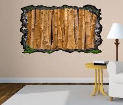 3d wandtattoo wald hintergrund birke baum bäume holz selbstklebend wandbild wandsticker wohnzimmer wand aufkleber 11o1214 wandtattoos und