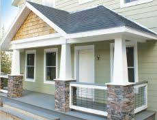 Columns On Front Porch by Front Porches With Rock Columns Front Porch Designs Natural