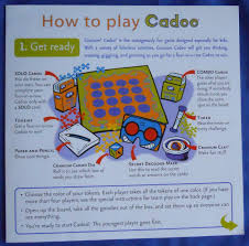 Cranium Cadoo Board Game Instructions Replacement