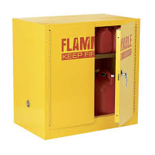 Flammable Safety Cabinet 30 Gallon by Yellow Flammable Storage Cabinet Usashare Us