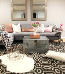 Rustic Chic Living Room Ideas Astounding Retro Small Grey Black Patterned
