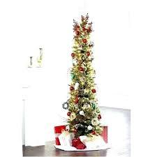 Slim Pencil Christmas Tree Trees White Sale Black Artificial