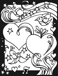 Page 2 Heart To Stained Glass Coloring Book By Dover Publishing