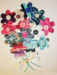 Craft And Other Activities For The Elderly Make A Junk Mail Flower Collage