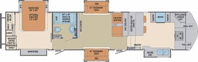 2010 Jayco 5th Wheel Floor Plans by New Or Used Fifth Wheel Campers For Sale Rvs Near Colorado Springs
