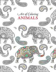 Art Of Coloring Animals Will Help You Rediscover The Calming Benefits And Creative Stimulation This Quality Adult Book From Leisure
