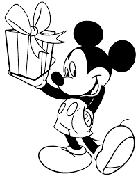 Mickey Mouse Color Pages