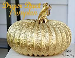 Make Dryer Vent Pumpkins by Dryer Duct Pumpkins Simply Darr Ling