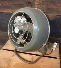 Vornado Table Fan Vintage by Retro Vintage Antique Green Mid Century Mod Table Fan Vornado