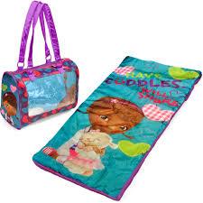Disney Doc McStuffins Mini Sleepover Set Nap Mat with BONUS Sling