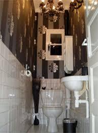 idée déco toilettes baroque