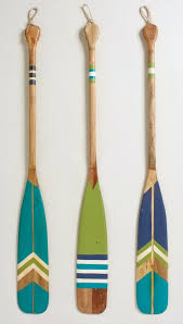 decorative oars and paddles 19 fascinating diy coastal wall decorations to refresh your home