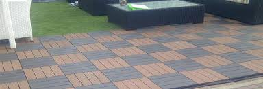deck tiles on grass composite deck tiles in light and brown