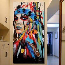 Best And Cheap Wall Hangings Tooarts Fire And Ice Modern Painting