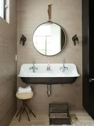 Small Trough Bathroom Sink With Two Faucets by Bathroom Vanity Designsugh Sink Vessel Double Fascinating Image