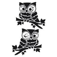 Owl Pumpkin Template by Eule Stravaganza Pattern For Hand Embroidery Von Americanduchess