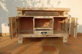 meuble cuisine palette meubles en bois de palette meubles en bois de palettes