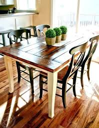 Farm Table Dining Room Farmhouse Chairs Tables Awesome Stunning Rustic