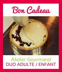 cours de cuisine enfant lyon cours de pâtisserie lyon bon cadeau duo adulte enfant