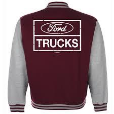 100 Ford Truck Logo Baseball Varsity Jacket American S Classic Vintage