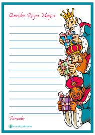 Carta Para Ninos De Tercero