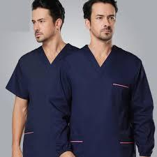 Ceil Blue Scrub Sets by New Men Medical Scrub Sets Hospital Doctor Uniforms Dental Clinic