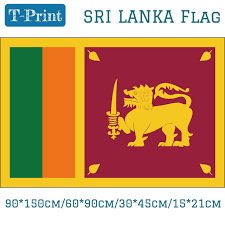 Sri Lanka National Flag 6090cm 90150cm 1521cm For World Cup