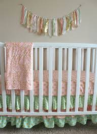 Etsy Baby Bedding by 11 Best Pink And Gray Baby Crib Bedding Ideas Images On