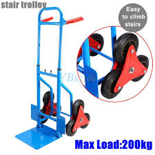 100 Hand Truck Stair Climber HEAVY DUTY STAIR Dolly 441lbs Capacity Warehouse