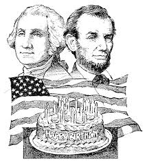Happy Birthday Presidents Washington And Lincoln Coloring Page