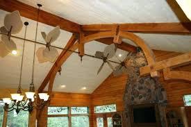 ceiling fan reclaimed wood outdoor ceiling fan machine age