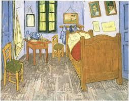Vincents Bedroom in Arles by Vincent Van Gogh 716 Painting