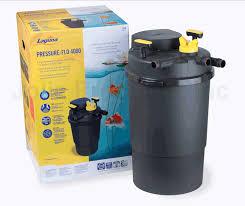 laguna pressure flo pf4000 w 36 watt uvc pond filter