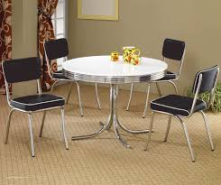 Cozy Zinc Top Dining Table Ebay Inspired On Retro White And Chrome Vintage With 10 Legs Edinburgh