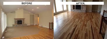 replace carpet with hardwood flooring ideas