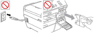 If The Empty Ink Cartridge Is Removed And Cover Closed Display Will Say Cannot Print To Using Only Black