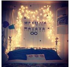 Room Ideas Bedrooms With Lights Tumblr