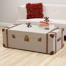 Enhance Your Home Living Or Bed Decor With The Uniquely Styled Journey Trunk Coffee Table Rustic StyleCountry
