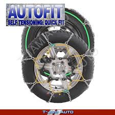 Snow Chains 4WD 14 16 Inch CA360 205/70x14 Wheels Tyres New ...