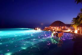 100 Resorts With Infinity Pools Huvafen Fushi Maldives