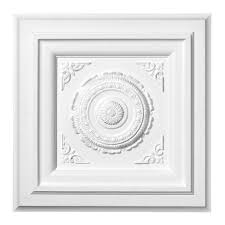 Small Two Piece Ceiling Medallions by Square Ceiling Medallion Ceiling Medallions Pinterest