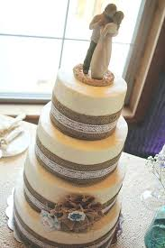 Burlap And Lace Wedding Ideas The I Do Moment Country Cake