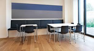 bureau coloré panneau acoustique mural en textile coloré pour bureau