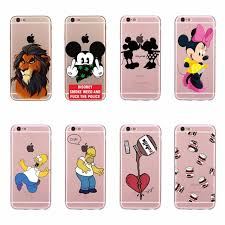 Funda Para el iphone de Apple 6 Plus Contraportada Le³n Mickey
