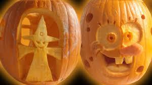 Good Pumpkin Carving Ideas Easy by Halloween Pumpkin Carving Ideas Youtube